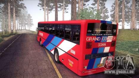 Grand Courier 5588 für GTA San Andreas linke Ansicht