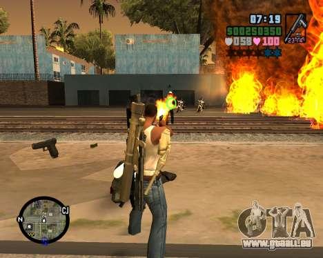 C-HUD Vice Sity pour GTA San Andreas deuxième écran