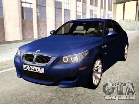 BMW M5 E60 2010 pour GTA San Andreas