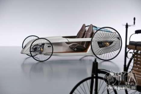 Les écrans de démarrage de Mercedes-Benz F-CELL  pour GTA 4 secondes d'écran