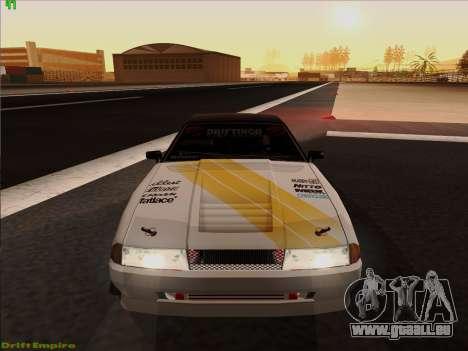 Vinyls pour Élégie pour GTA San Andreas vue de droite