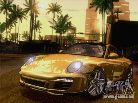 Porsche 911 Targa 4S für GTA San Andreas linke Ansicht