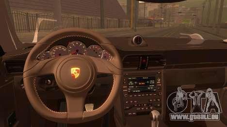 Porsche 911 Carrera GTS 2011 pour GTA San Andreas vue de droite