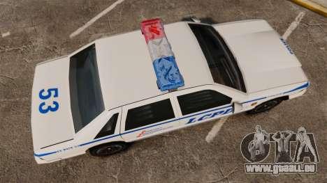 GTA SA Police Cruiser LCPD [ELS] für GTA 4 rechte Ansicht