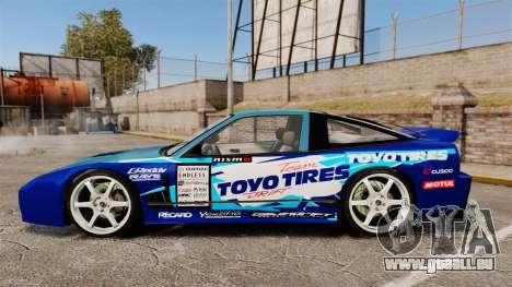 Mazda RX-7 Kawabata Toyo pour GTA 4 est une gauche