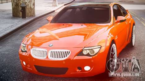 BMW M6 Hamann Widebody v2.0 pour GTA 4 est un droit