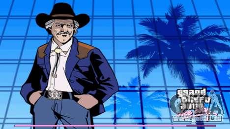 Les écrans de démarrage avec la version PS2 GTA Vice City pour la deuxième capture d'écran