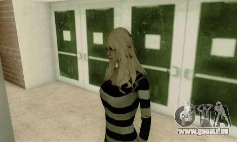Young Blonde für GTA San Andreas fünften Screenshot