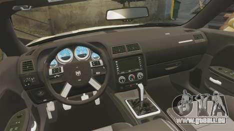 Dodge Challenger SRT8 2009 [EPM] APB Reloaded pour GTA 4 est un côté