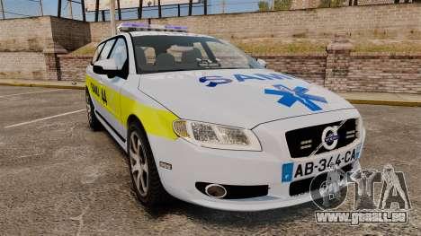 Volvo V70 SAMU 44 [ELS] für GTA 4