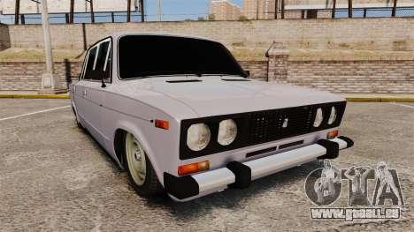 VAZ-2106 Zhiguli BUNKER pour GTA 4