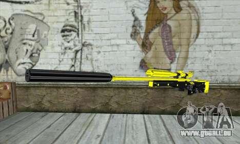 Yellow Sniper Rifle für GTA San Andreas