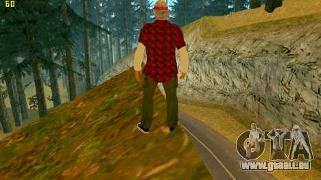 La nouvelle texture de la Vérité pour GTA San Andreas deuxième écran