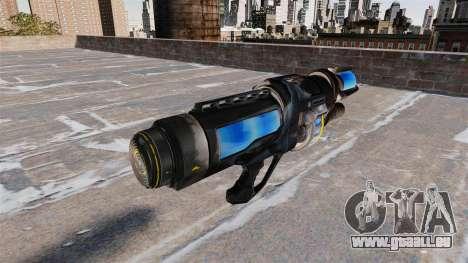 Le gel pistolet pour GTA 4 secondes d'écran
