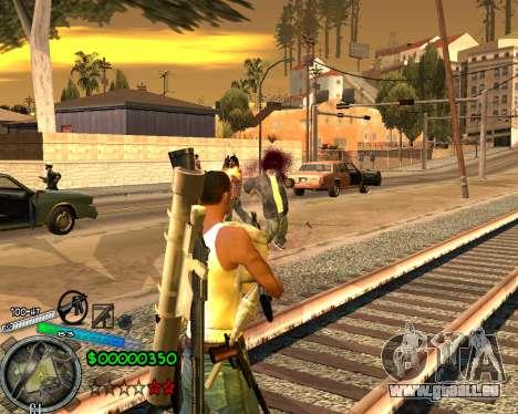 C-HUD Gor Life Ghetto pour GTA San Andreas