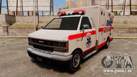 Brute Ambulance v2.1-SH pour GTA 4