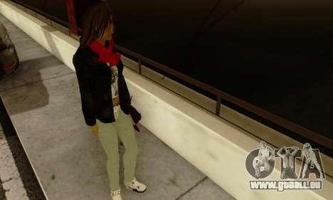 Kim Kameron pour GTA San Andreas cinquième écran