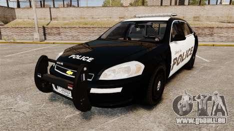 Chevrolet Impala 2008 LCPD [ELS] für GTA 4