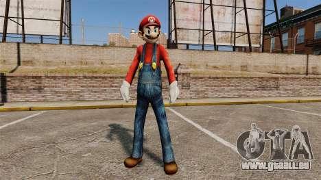 Mario pour GTA 4