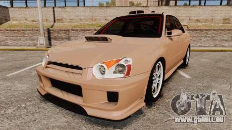 Subaru Impreza WRX STI 2004 pour GTA 4