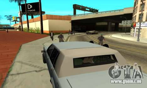 Des ombres dans le style de RAGE pour GTA San Andreas septième écran