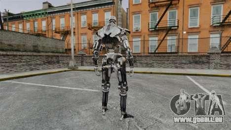 Terminator T-800 pour GTA 4 secondes d'écran