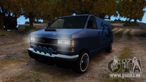 Burrito Bodybuilder für GTA 4 Rückansicht
