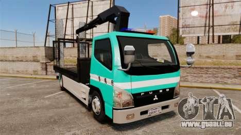 Mitsubishi Fuso Canter Japanese Auto Rescue für GTA 4