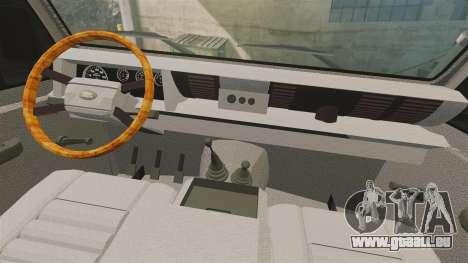 Land Rover Defender tecnovia [ELS] pour GTA 4 Vue arrière