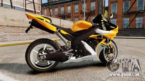 Yamaha R1 RN12 v.0.95 pour GTA 4 est une gauche