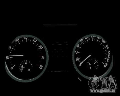 Skoda Octavia A7 pour GTA San Andreas moteur