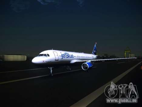 Airbus A320 JetBlue pour GTA San Andreas