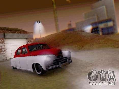 GAZ M-20 Pobeda pour GTA San Andreas