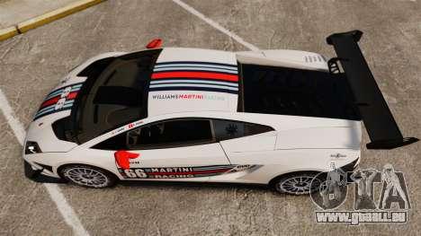Lamborghini Gallardo LP570-4 Martini Raging für GTA 4 rechte Ansicht