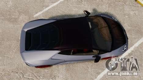 Lamborghini Huracan 2014 pour GTA 4 est un droit