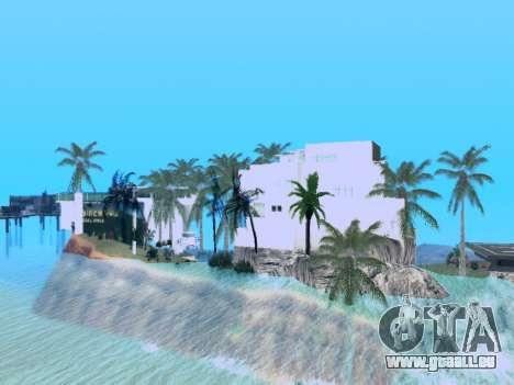 Nouvelle île V2.0 pour GTA San Andreas troisième écran