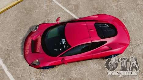 Jaguar C-X75 [EPM] pour GTA 4 est un droit