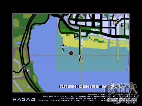 Nouvelle île V2.0 pour GTA San Andreas huitième écran