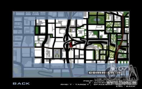 Tuning Mod 0.9 pour GTA San Andreas sixième écran