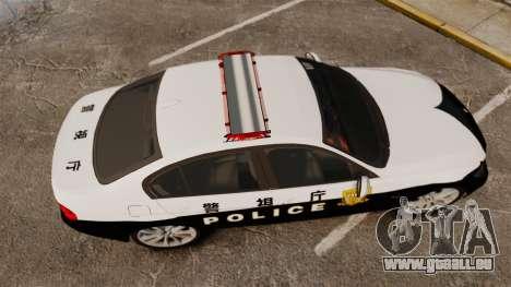BMW 350i Japanese Police [ELS] für GTA 4 rechte Ansicht