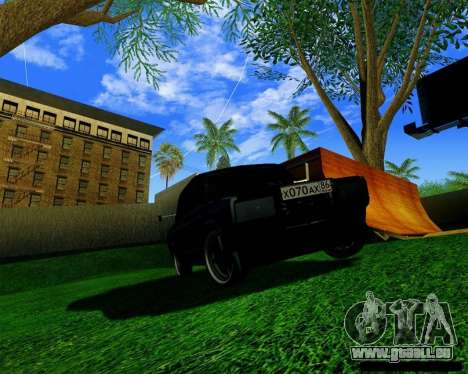 Most Wanted Enb v.2.0 für GTA San Andreas dritten Screenshot