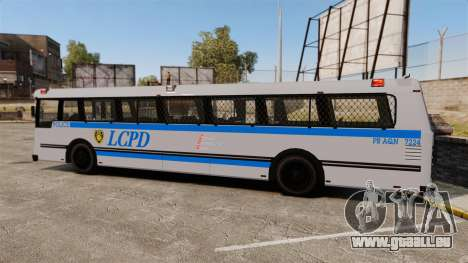 Brute Bus LCPD [ELS] für GTA 4 linke Ansicht