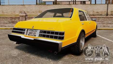 Esperanto New Wheel für GTA 4 hinten links Ansicht