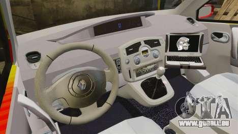 Renault Scenic Medicin v2.0 [ELS] für GTA 4 Rückansicht