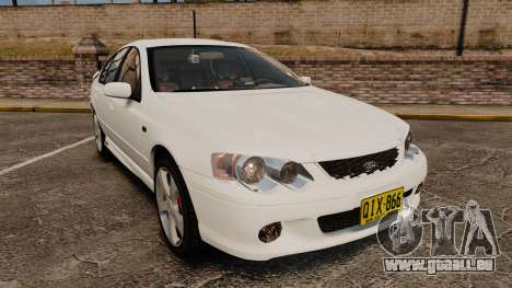 Ford Falcon XR8 Police Unmarked [ELS] pour GTA 4