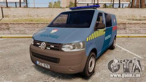 Volkswagen Transporter T5 Hungarian Police [ELS] pour GTA 4