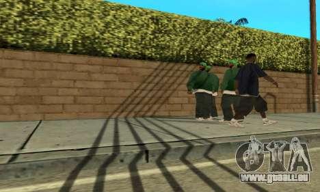Des ombres dans le style de RAGE pour GTA San Andreas troisième écran