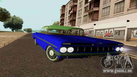 Chevrolet Bel Air De 1959 pour GTA San Andreas