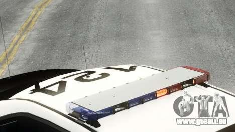 Ford Police Interceptor LCPD 2013 [ELS] pour GTA 4 Vue arrière de la gauche