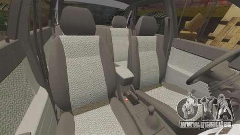 ВАЗ-Lada 2170 Priora v2.0 pour GTA 4 vue de dessus